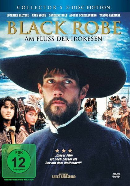 DVD »Black Robe - Am Fluß der Irokesen (2 Discs)«