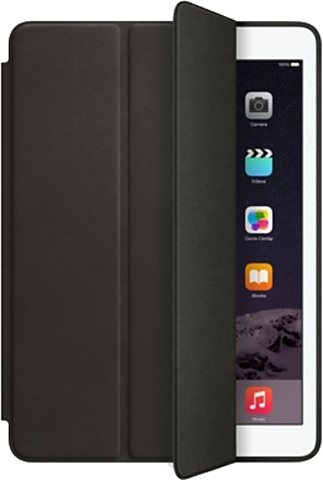 Apple iPad Air 2 Smart Case Lederschutzhülle Etui iPad Air 2 in schwarz