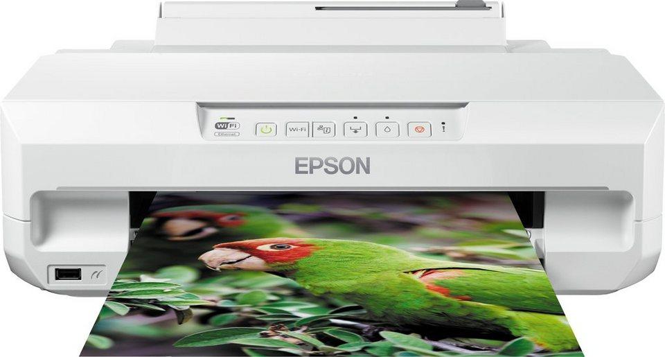 Epson Expression Photo XP-55 Drucker in weiß