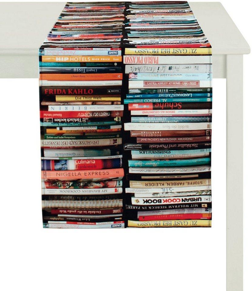 Tischläufer, Apelt, »Libri« in multicolor