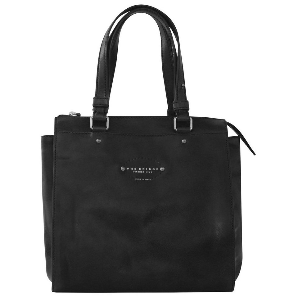 The Bridge Brera Handtasche Leder 27 cm in black