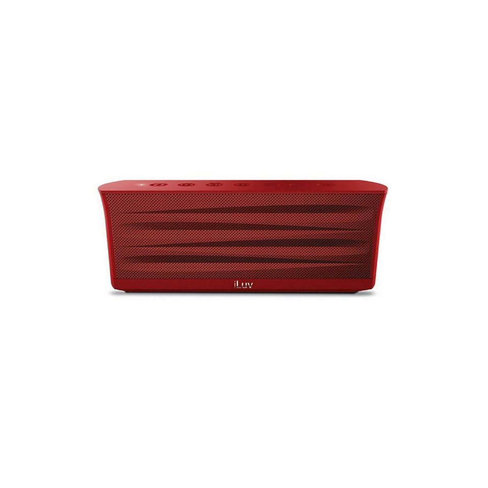 iLuv Bluetooth Lautsprecher »MobiOut« in rot