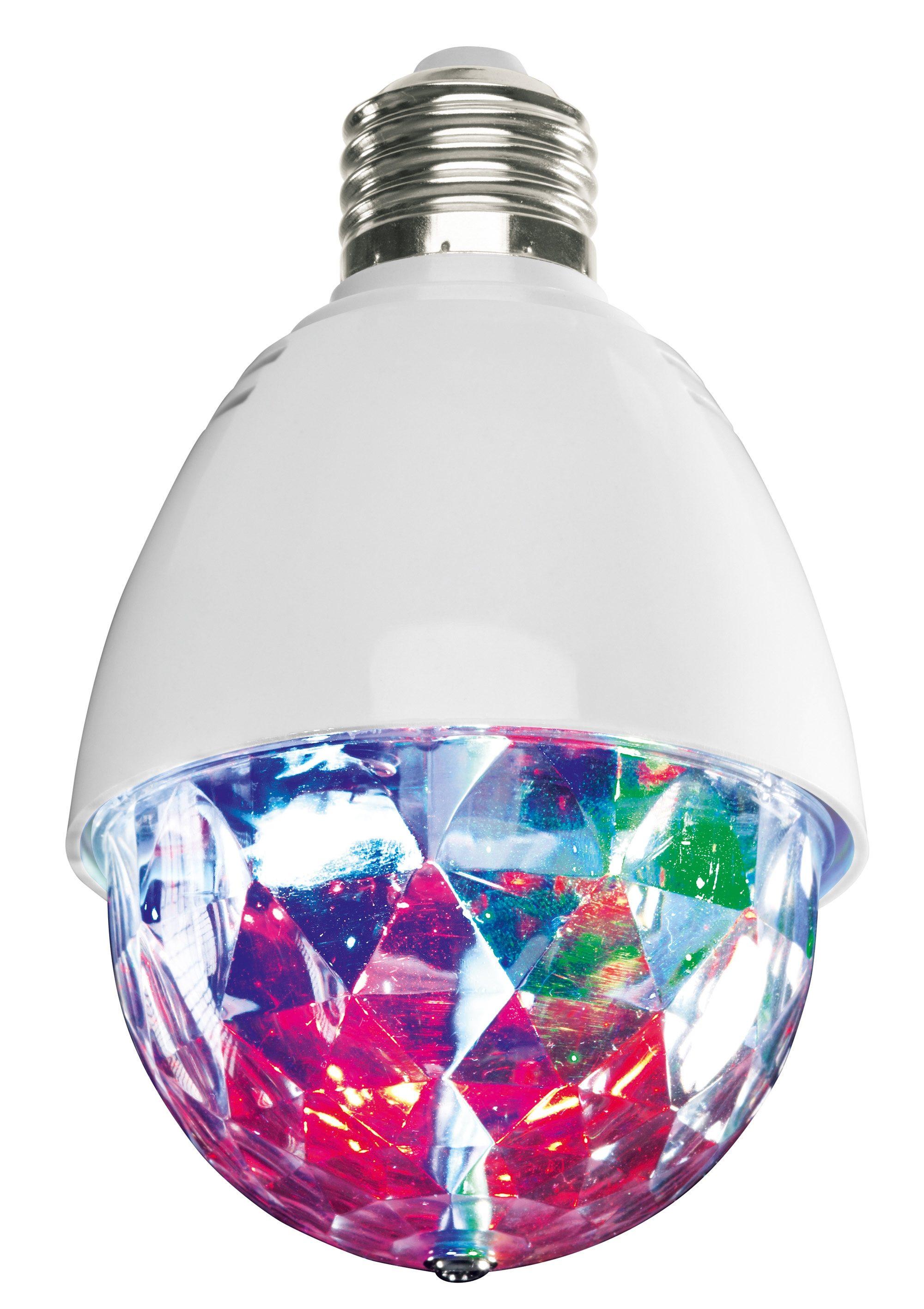 EASYmaxx »Deluxe« LED-Leuchtmittel, E27, 1 Stück, RGB