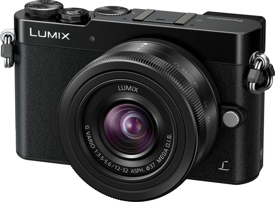 Lumix Panasonic DMC-GM5KEG System Kamera, LUMIX G VARIO 12-32 MEGA OIS F3.5-5.6 ASPH. Zoom in schwarz
