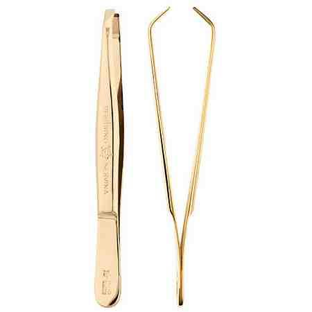 Mit unseren Pinzetten entfernen Sie einzelne feine Haare punktuell und präzise.