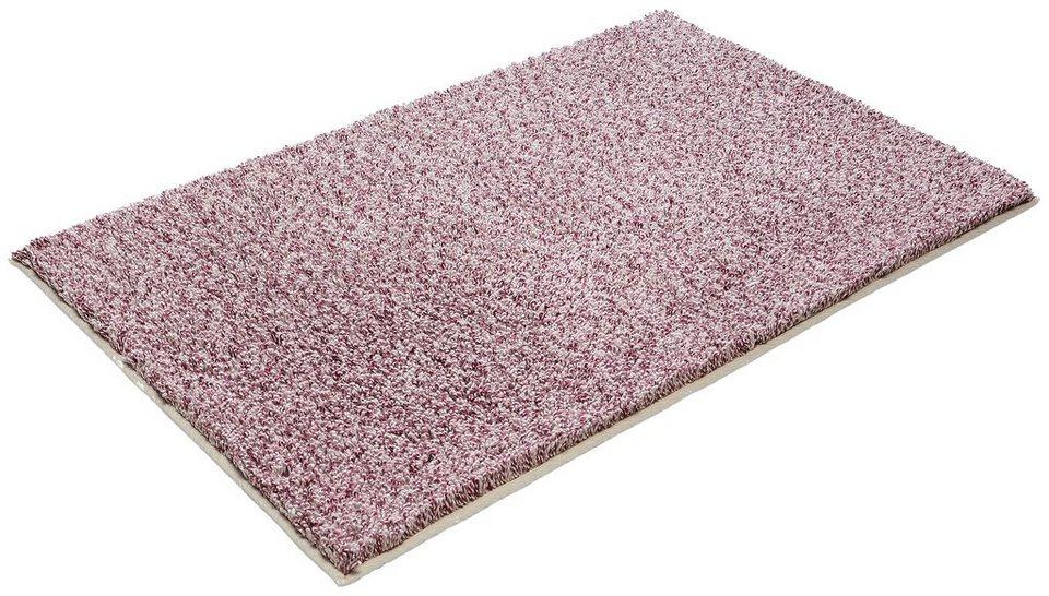 Badematte, Ecorepublic Home, »Sara«, Höhe 22 mm, Bio-Baumwolle, rutschhemmender Rücken in rose