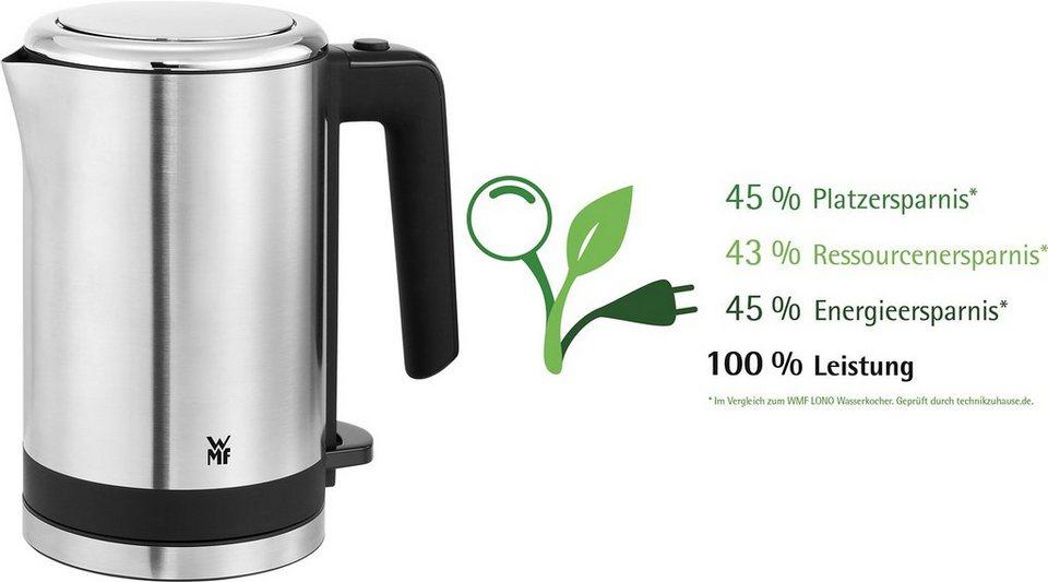 WMF KÜCHENminis® Wasserkocher, 0,8 Liter, 1800 Watt in Cromargan® matt