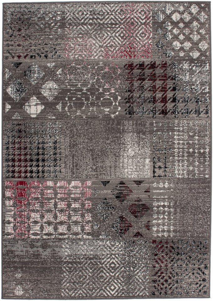 Teppich, Kayoom, »Funky 2029« in Grau