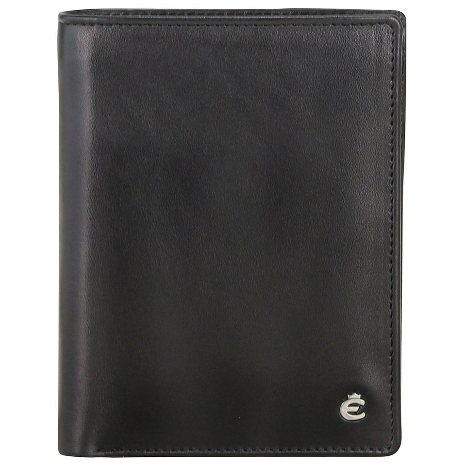 Esquire Harry Ausweisetui Leder 9 cm in black