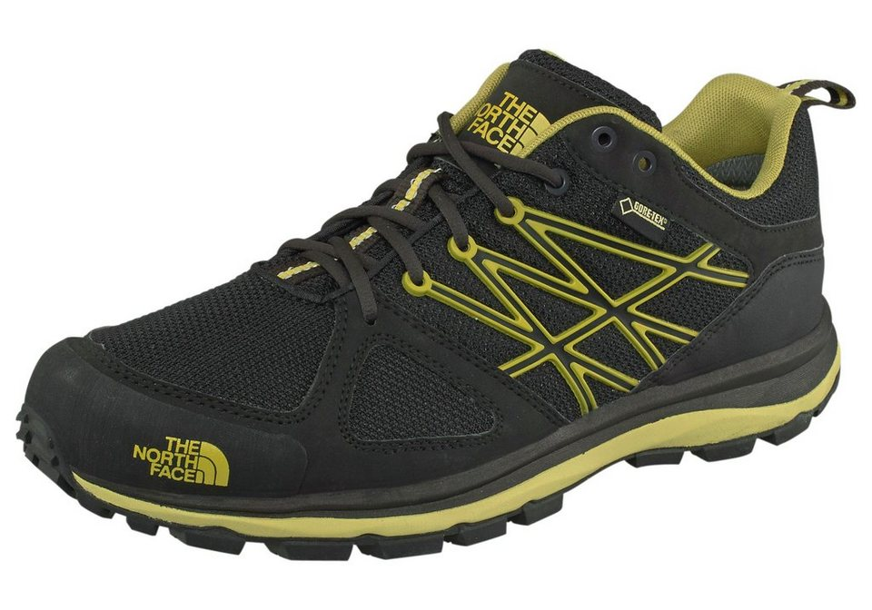 The North Face Men's Litewave GTX Outdoorschuh in Schwarz-Gelb