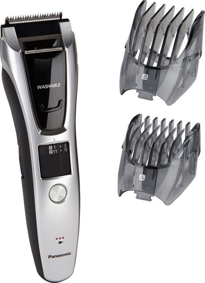Panasonic, Bart- + Haarschneider, ER-GB70-S503 in anthrazit / schwarz