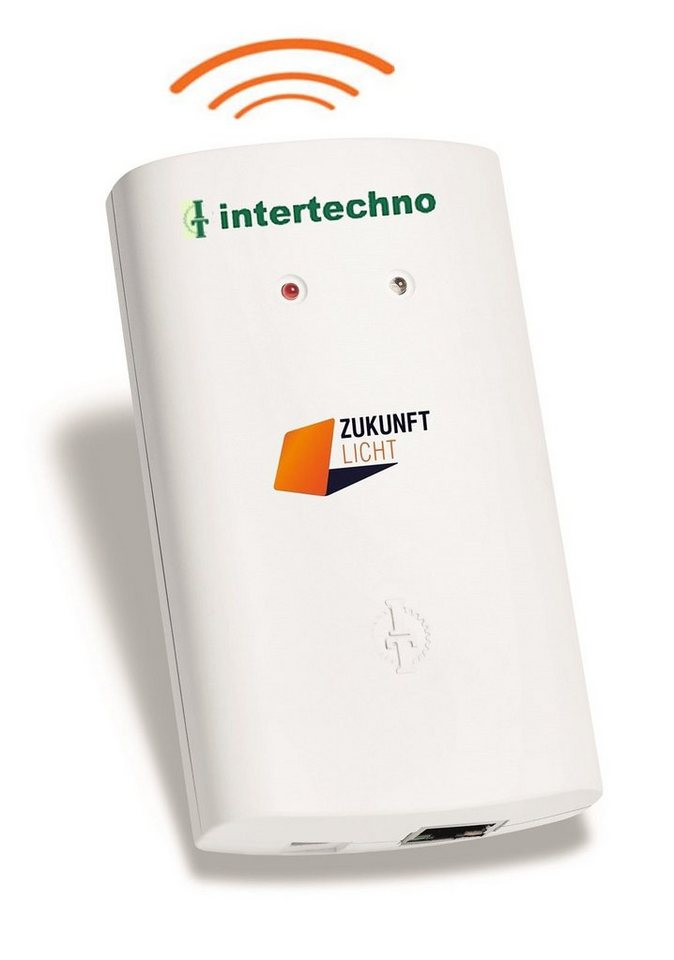 intertechno - Smart Home - Steuerung & Komfort »ITGW-433 Gateway / WLAN-Switch« in weiss