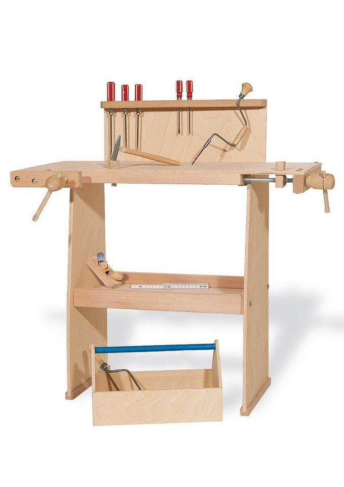 Pinolino Werkbank aus Holz »Walter«