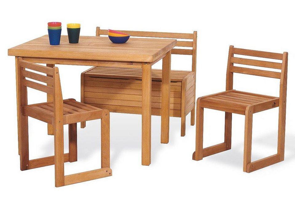 pinolino kinder sitzgruppe peter 4 tlg kaufen otto. Black Bedroom Furniture Sets. Home Design Ideas