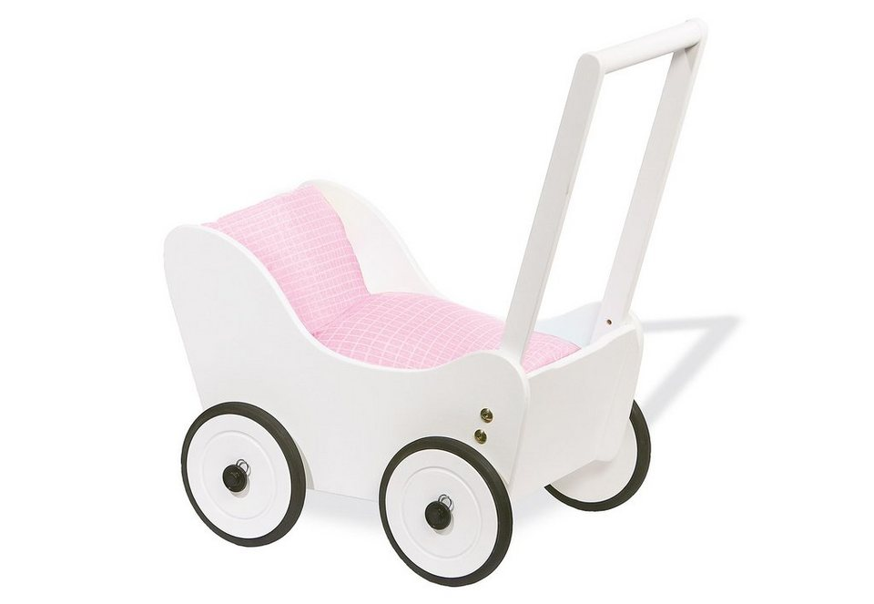 Pinolino Puppenwagen Holz Maria Buche Weis ~ Pinolino Lauflern und Puppenwagen »Maria« kaufen  OTTO