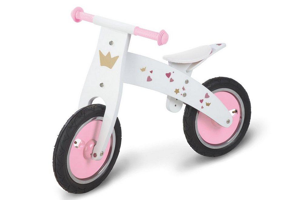 Pinolino Laufrad »Prinzessin Pinky« in weiß