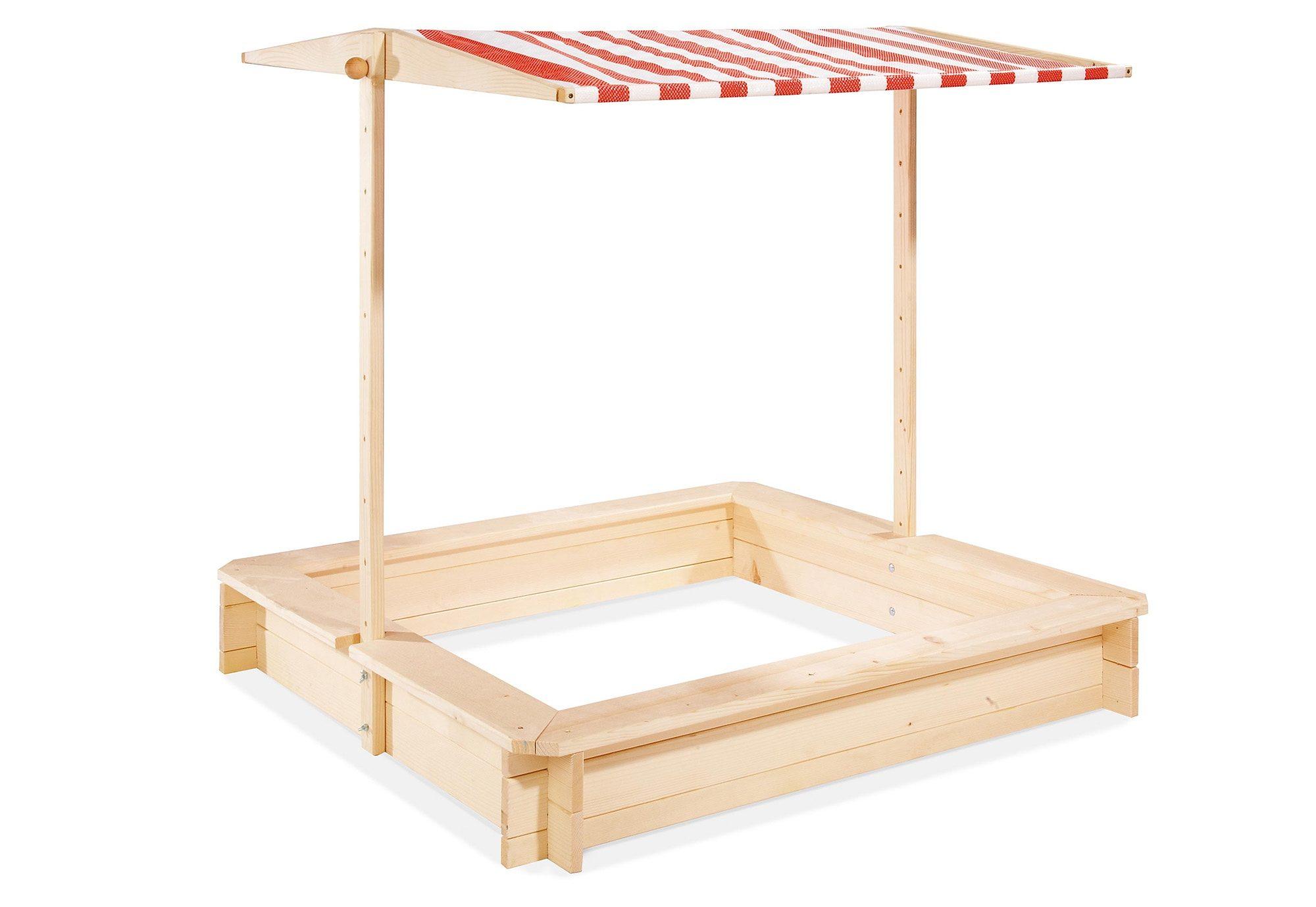 Pinolino Sandkasten aus Holz »Leonie«