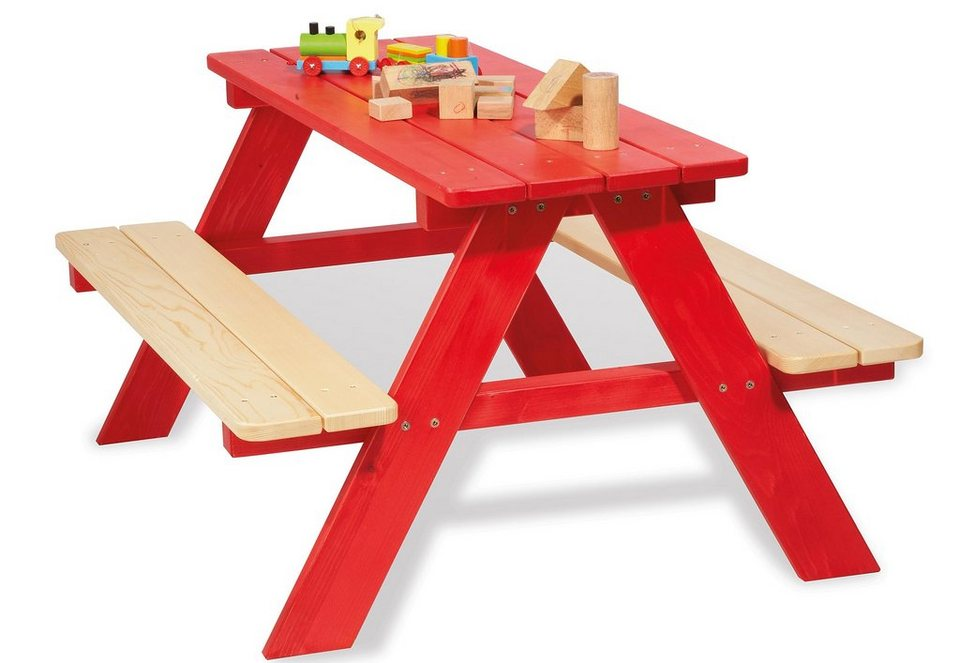 Pinolino Kindersitzgarnitur »Nicki«, rot
