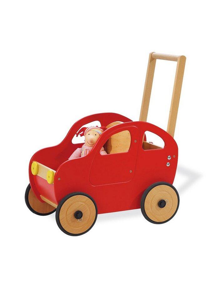 Pinolino Lauflernwagen »Auto Jonas« in rot