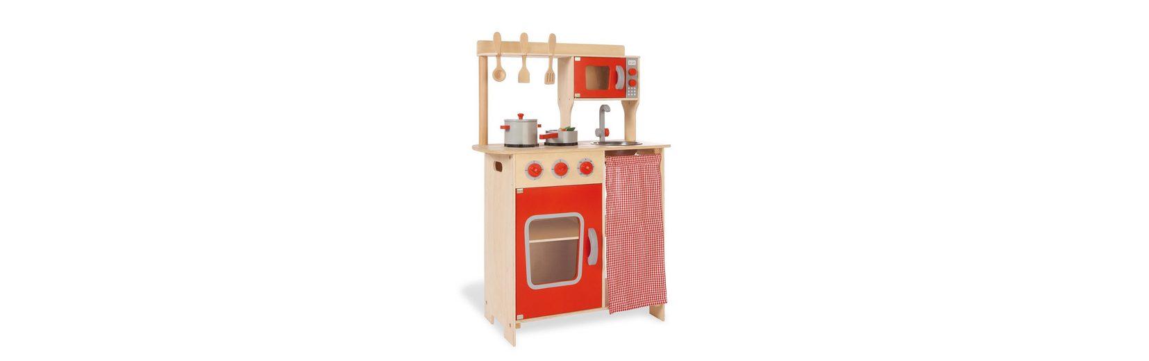 Pinolino Kinderküche aus Holz , »Kinder-Kombi-Küche Rike«
