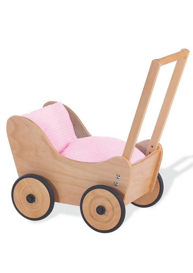 Pinolino Lauflern- und Puppenwagen, »Sarah« in rosa