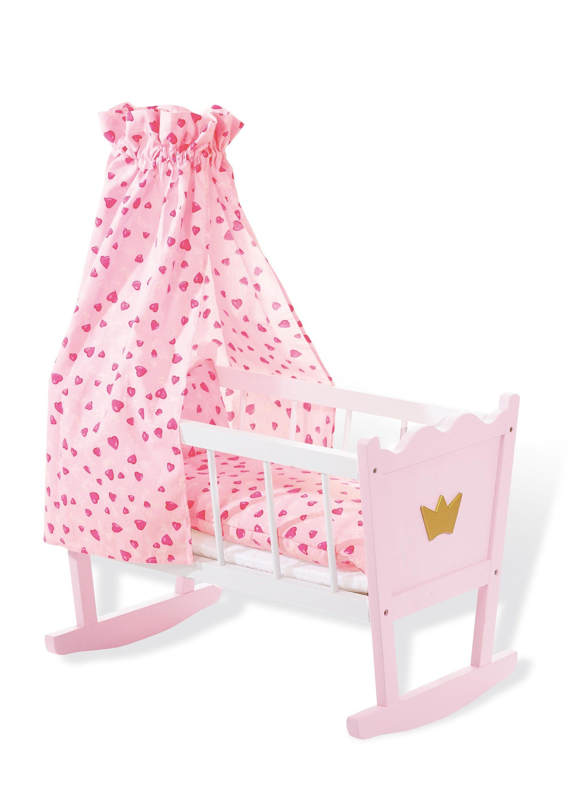 Pinolino Puppenwiege »Prinzessin Fee«