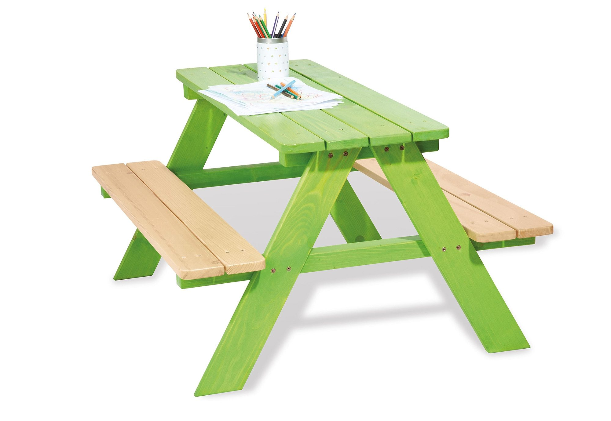 Pinolino Kindersitzgruppe, »Nicki für 4«, grün