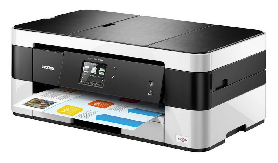 Brother Tintenstrahl-Multifunktionsdrucker »MFC-J4420DW 4in1« in Schwarz