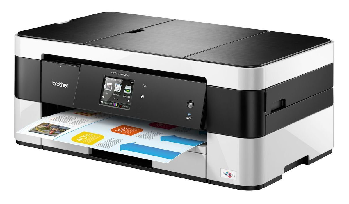 Brother Tintenstrahl-Multifunktionsdrucker »MFC-J4420DW 4in1«