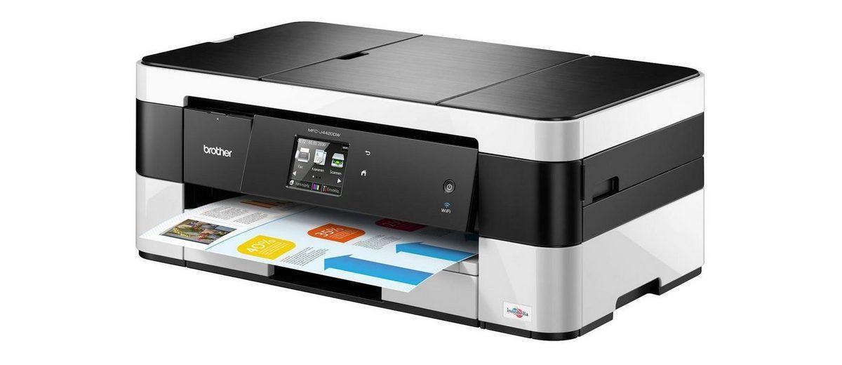 Brother Tintenstrahl-Multifunktionsdrucker »MFC-J4420DW 4in1«