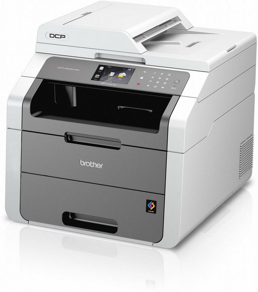 Brother Farblaser-Multifunktionsdrucker »DCP-9022CDW 3in1« in Grau