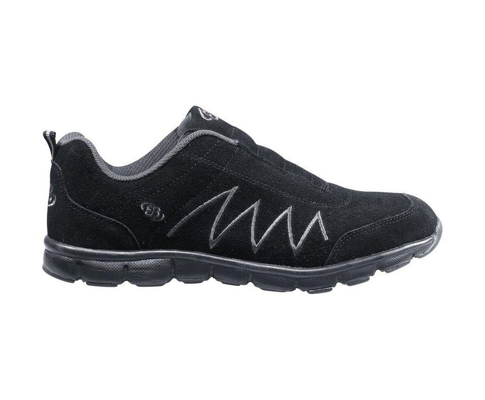 Brütting Sneaker mit leichter Laufsohle »GLENDALE SLIP IN« in schwarz/grau
