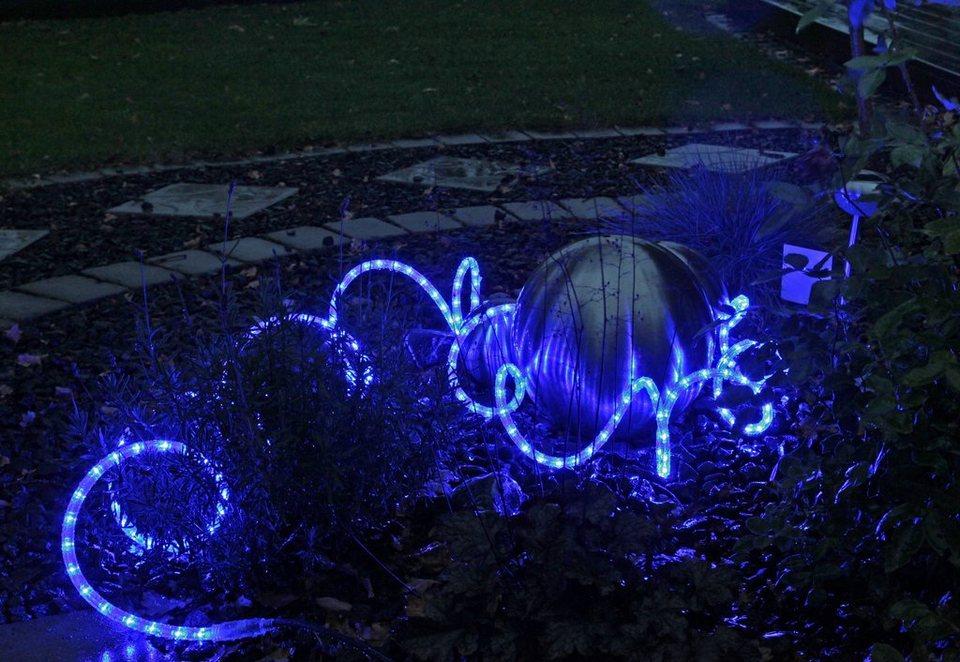 LED Lichterschlauch, »Superflex« in blau