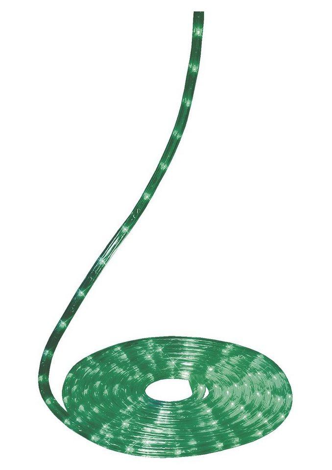 LED Lichterschlauch in grün