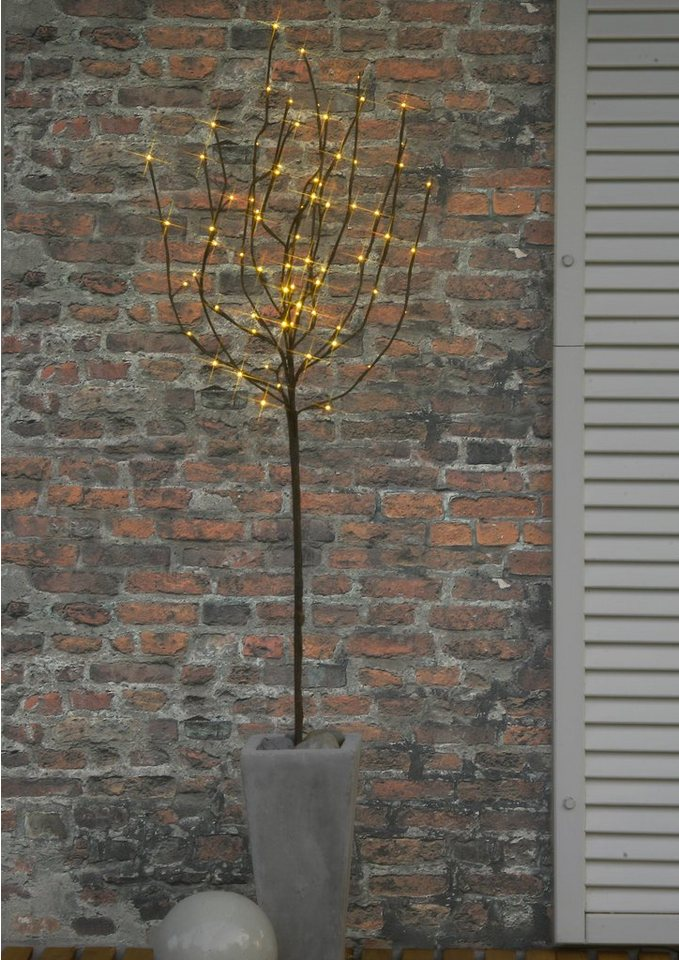 LED Baum in braun