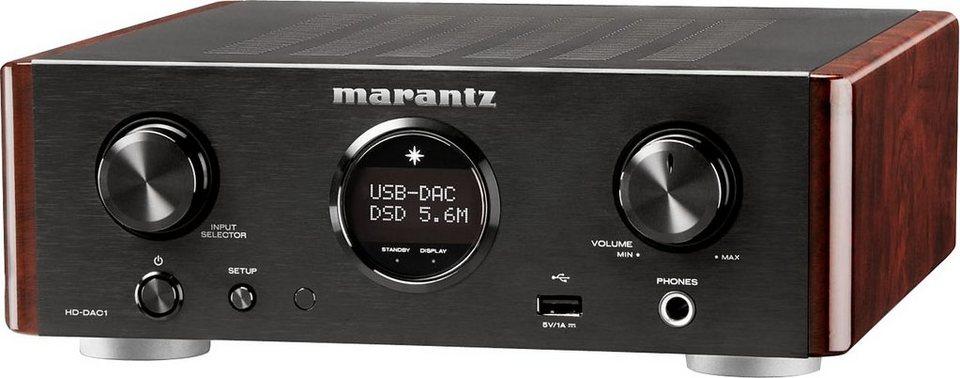 Marantz HD-DAC1 Kopfhörer-Verstärker in schwarz