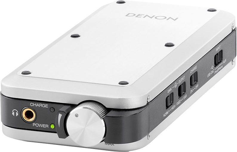 Denon DA-10 Kopfhörer-Verstärker in silberfarben