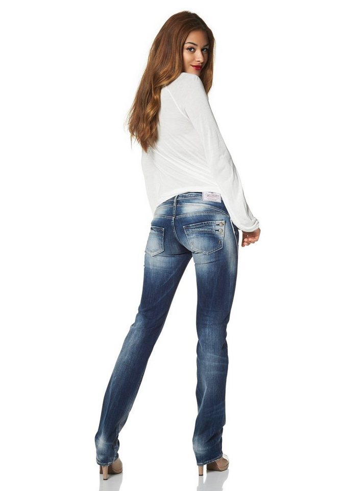 Herrlicher Gerade Jeans »Piper« in authentic