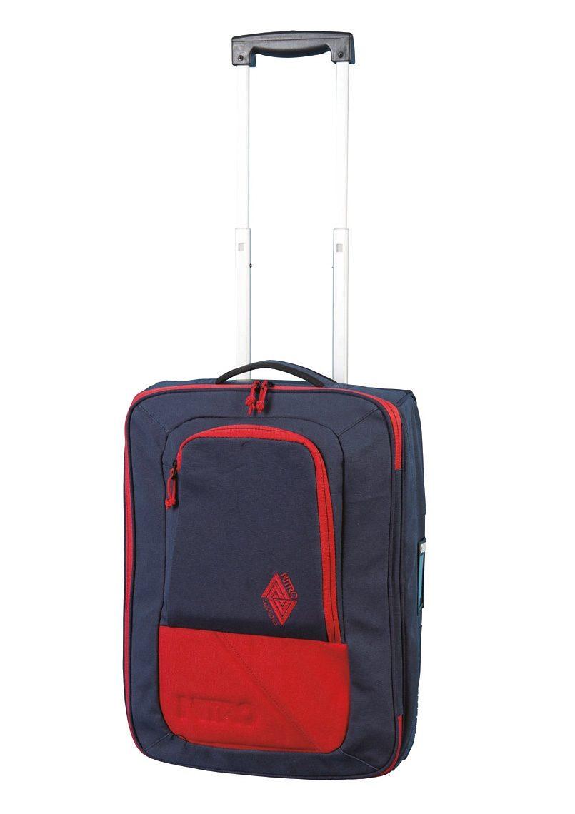 Nitro Trolley-Reisetasche mit 2 Rollen, »Team Carry On Bag - Midnight«