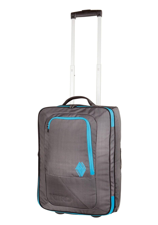Nitro Trolley-Reisetasche mit 2 Rollen, »Team Carry On Bag - Blur«