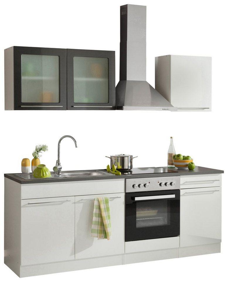 Küche Mit E Geräten | Held Mobel Kuchenzeile Malta Mit E Geraten Breite 210 Cm Online
