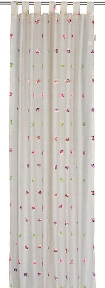 vorhang tom tailor blossom mit schlaufen 1 st ck. Black Bedroom Furniture Sets. Home Design Ideas