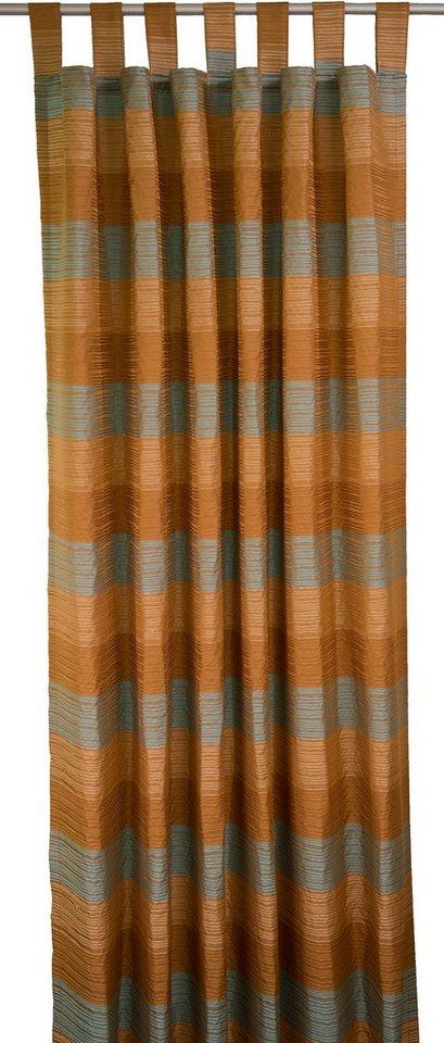 Vorhang, Tom Tailor, »Lion« (1 Stück) in braun/türkis