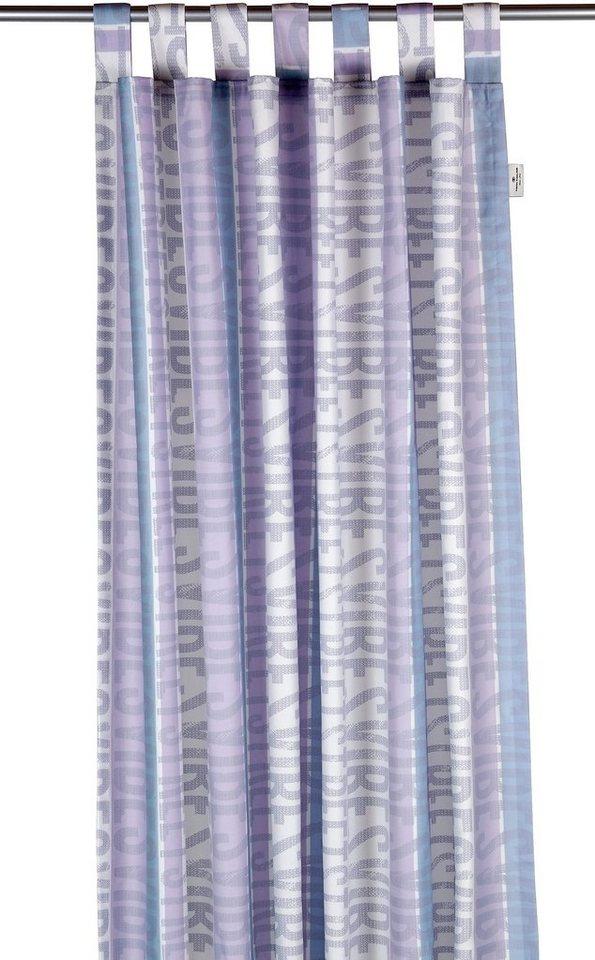 Vorhang, Tom Tailor, »Street Vibes« (1 Stück) in flieder