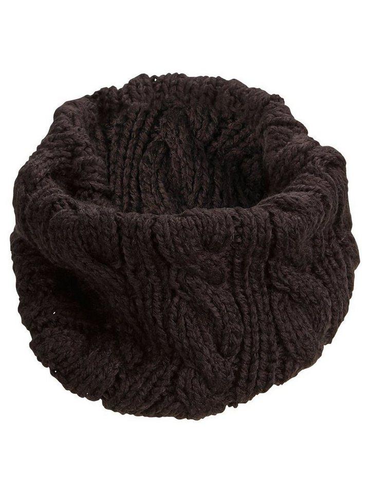 Selected Zopfstrick- Schal in Black