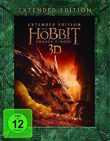 Blu-ray »Der Hobbit - Smaugs Einöde 3D (Extended...«