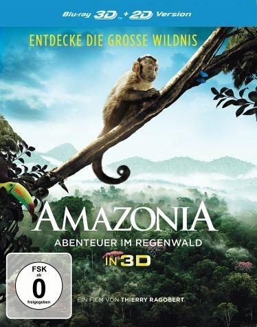 Blu-ray »Amazonia - Abenteuer im Regenwald (Blu-ray 3D)«