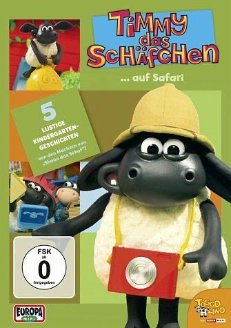 DVD »Timmy das Schäfchen... auf Safari«