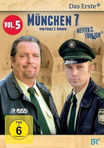 DVD »München 7 - Heiter bis tödlich, Vol. 5 (3 Discs)«