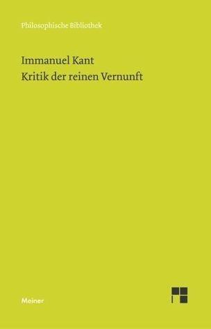 Broschiertes Buch »Kritik der reinen Vernunft«